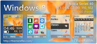 microsoft themes for nokia c2 01 windows 8 screen theme for nokia c1 01 c2 00 2690 128 160