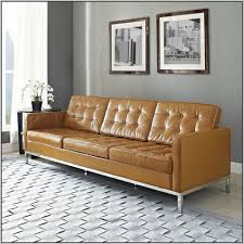Leather Tufted Sofa by Light Brown Leather Tufted Sofa Sofas Home Decorating Ideas