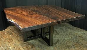 Walnut Slab Table Dorset Custom Furniture A Woodworkers Photo Journal A Custom
