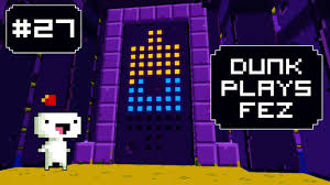 Fez Bookcase Room Dunk Plays Fez S2 Ep 7 64 Cube Door Lets Play Fez Youtube
