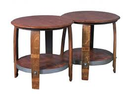 Barrel Side Table Wine Barrel Coffee Table