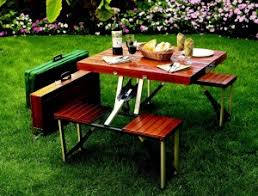 Folding Wood Picnic Table Folding Suitcase Picnic Table Take My Paycheck Shut Up And