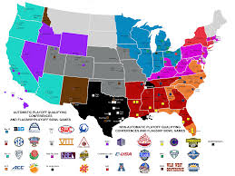 Cmu Map Map Of College Football Conferences If They Were Limited To 10