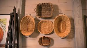 How To Make Wall Decoration At Home by How To Use Baskets As Decoration At Home With P Allen Smith