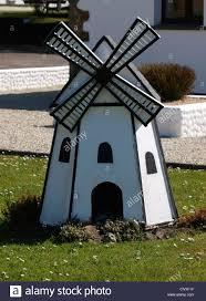 windmill garden ornament uk stock photo royalty free image