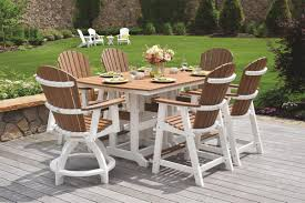 metal patio furniture set poly outdoor furniture from dutchcrafters amish furniture
