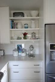 Floating Kitchen Shelves by Home Tour My Kitchen U2014 Chic Little House