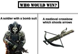 Payday 2 Meme - payday 2 bulldozer vs crossbow by hunter2014hun on deviantart