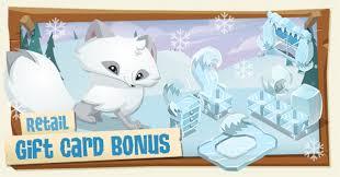 animaljam gift card arctic fox bundle the daily explorer