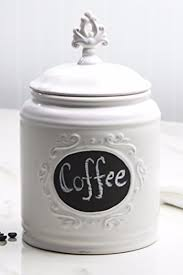 coffee kitchen canisters ideas for white kitchen canisters for coffee bar area