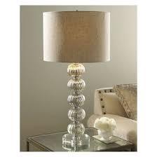 mercury glass ball lights mercury glass stacked ball table l chic lighting 759526439367 ebay