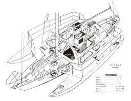 Catamaran Floor Plans by Arthur Piver U0027s Trimaran Designs Outrigger Cool Pinterest