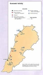 Map Of Lebanon Nationmaster Maps Of Lebanon 21 In Total