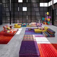 Corduroy Sofa Bed Furniture Wonderful Mah Jong Sofa For Your Modern Living Room