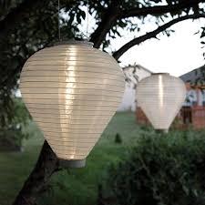 lights solar solar lanterns white solar 10 teardrop