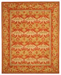 eorc tufted wool rust morris rug u0026 reviews houzz