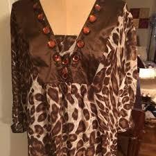 brown blouse 74 inc international concepts tops plus size inc blouse