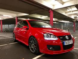 volkswagen red 2008 mk5 vw golf gti edition 30 2 0 tfsi red 5 door in audenshaw