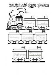 english teaching worksheets the train