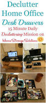 Organizing Office Desk by 178 Best Home Office Storage Solutions Images On Pinterest Home