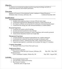 Samples Of Resume Pdf by Sample Agriculture Resume 6 Documents In Pdf