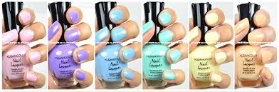 6 new kleancolor pastel summer collection lot nail polish lacquer