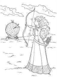 9 Images Of Shooting Target Coloring Page Printable Bullseye Disney Brave Coloring Pages