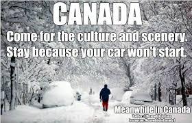 Canada Snow Meme - meanwhile in canada facebook