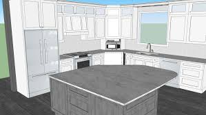 grey stained shaker kitchen cabinets white kitchen with grey stained island 3d warehouse