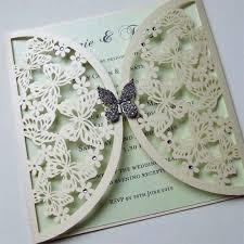 Invitation Wedding Cards Wedding Invitations Butterfly Shaped Invitation Wedding Card