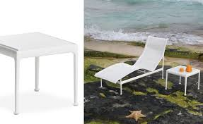 Frank Gehry Outdoor Furniture by Richard Schultz 1966 End Table Hivemodern Com