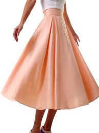 long bell shaped skirt pattern k 6090