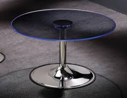 Base For Glass Coffee Table Transitioning 6 Color Led Coffee Cocktail Table With Glass Top By