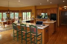 coordinating wood floor with wood cabinets brookfield kitchen wooden thumb remodeling wooden thumb remodeling