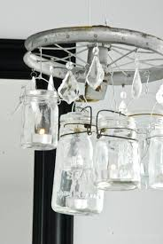 Chandelier Mason Jar 24 Things To Make With Mason Jars Tip Junkie