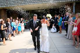 wedding rice wedding rice throwing aftewhite mordern wedding dressr the ceremony