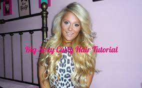 big curly hair tutorial featuring luxury for princesses hair