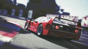 ferrari art ferrari f40 by acersense on deviantart