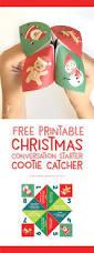 christmas cootie catcher free printable printable christmas kids