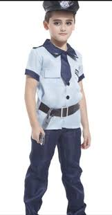 Boys Police Officer Halloween Costume Popular Police Kids Buy Cheap Police Kids Lots China Police