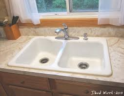 fix caulk around a sink intended for caulking around kitchen sink