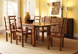 plain design solid wood dining room table and chairs enjoyable