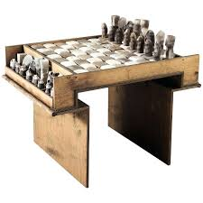 chess table and chairs set chess table furniture socielle co