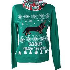 dachshund through the snow sweater royal family