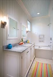 bathroom ideas with beadboard bathroom bathroom ideas coastal bathroom with painted blue