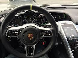 porsche 918 interior i got up close to a porsche 918 rebrn com
