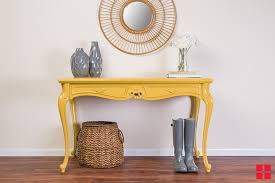 makeover an entryway table with new stops rust gloss tuscan sun