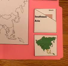 Map Of Southeast Asia Asia Lapbook Catholic Schoolhouse