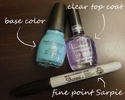 diy nail designs with sharpie marker kelly gene