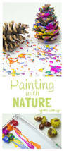 painting with nature process art kids craft room